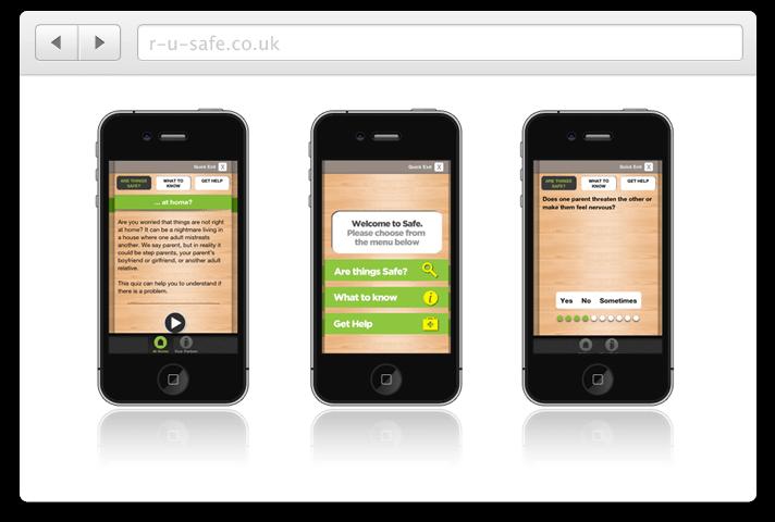 R U Safe? Mobile App | Our Portfolio | Website Support